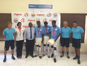 Young footballers selected for training in Jamaica
