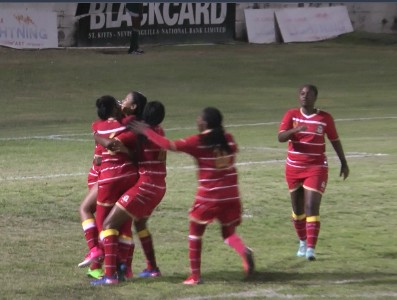 St. Kitts and Nevis draw first blood in CFU Women's Challenge Series