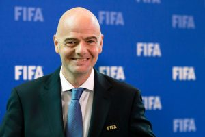 FIFA President congratulates SKNFA President on re-election