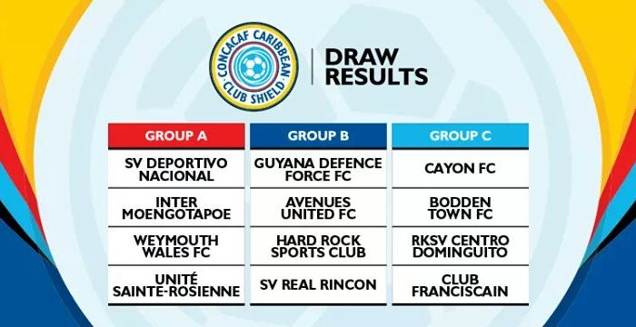 Cayon FC in Inaugural CONCACAF Caribbean Club Shield in Dominican Republic