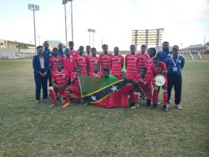 SKN Finishes 4th in U-14 CFU Caribbean Challenge Series