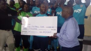 Cayon Rockets wins 2017 President's Cup