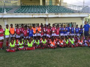A Football Festival could Spark Long-term Playing Interest in Primary School Girls