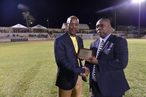 SKNFA honours Mr. Seymour Williams