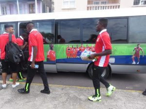 St. Kitts & Nevis clashes with Grenada in football friendly
