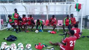 Under-20 Men's Football Team in DR for CFU qualifiers