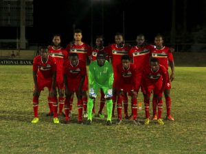 Sugar Boyz play Barbados in bid to boost FIFA ranking