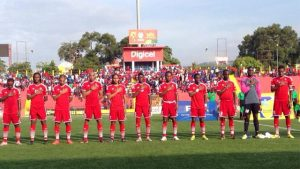 Team SKN and Haiti clash in major CFU Caribbean Cup Match