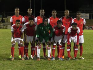 Team SKN Holds Powerful Nicaragua Football Team to a Nil-Nil Draw