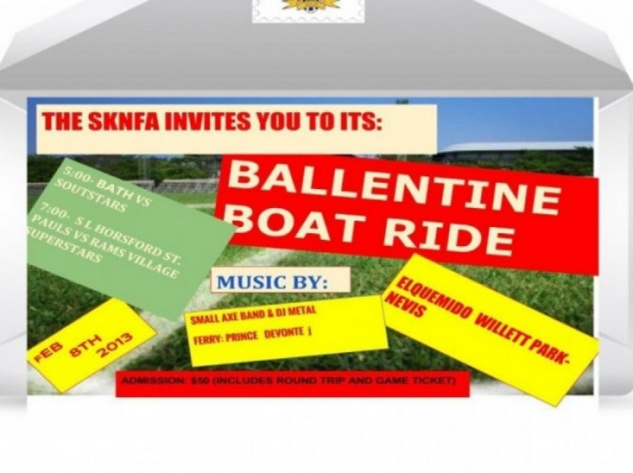 SKNFA presents Ballentine Boat Ride