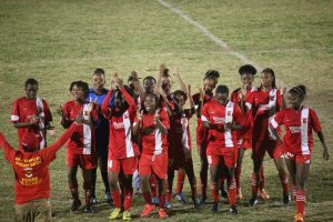 Four Teams advance to Women's Carnival Cup
