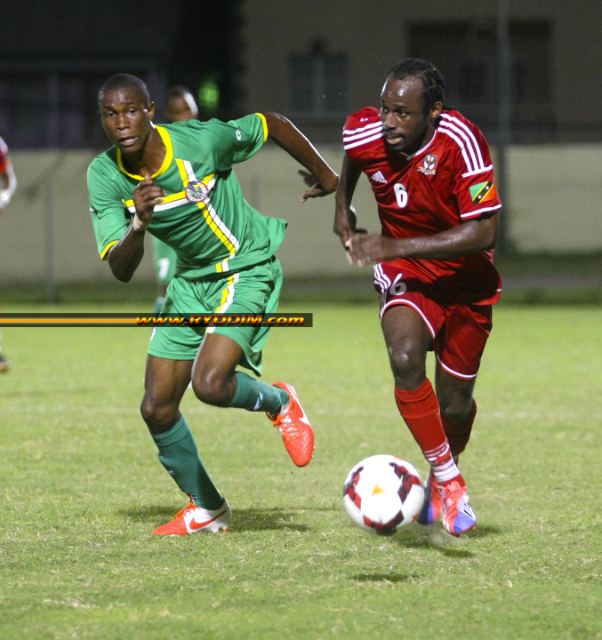 CONCACAF Qualifying Draw Determines Pairings for First Two Rounds of Preliminary Competition for the 2018 FIFA World Cup Russia: SKN vs TCI