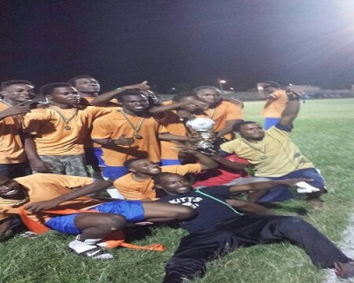 Cayon F.C Wins Junior League