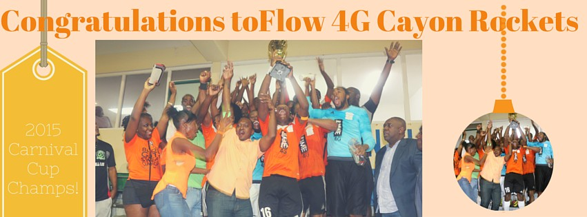 Flow 4G Cayon Rockets Breaks Thirteen Year Premier Drought With Carnival Cup Championship.