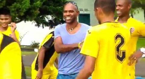 Kayamba joins club during practice on sunday