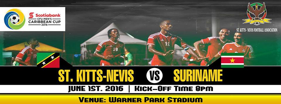 CFU: SKN vs Suriname