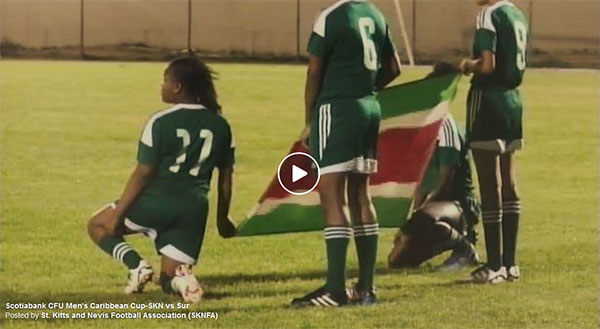 SKN vs Suriname CFU Qualifier Highlights