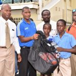 SKNFA Donates Equipment To Schools