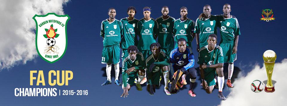 SKNFA FA Cup 2015 - 2016 Champions - Hobson Enterprises Garden Hotspurs