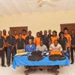 SKNFA Outfits Referees with New Uniforms