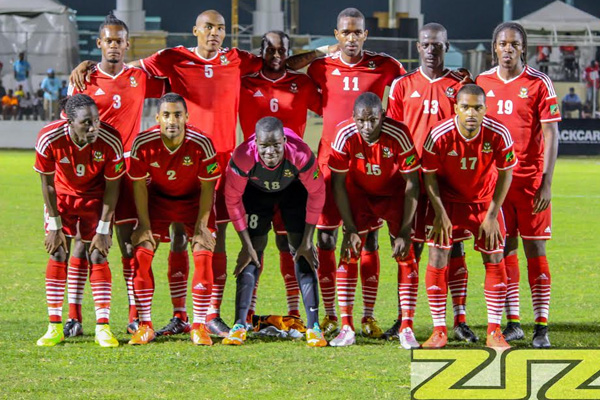 St.Kitts-Nevis off to rocky start at CFU Caribbean Cup